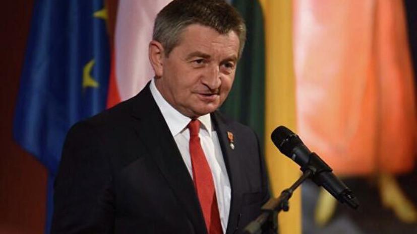 Спикер польского сейма ушёл в отставку