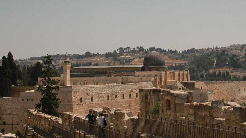 При столкновениях на Храмовой горе пострадали более 60 человек