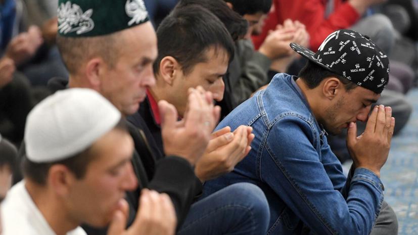 В Москве около 240 тысяч человек участвовали в богослужениях по случаю Курбан-байрама