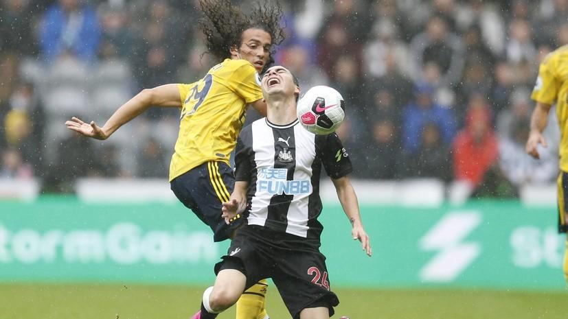 «Арсенал» обыграл «Ньюкасл» в стартовом матче АПЛ