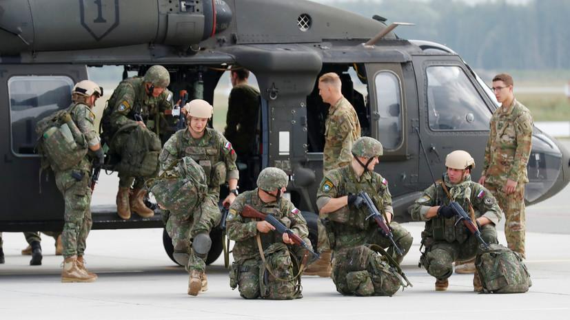Отметка о присутствии: с чем связано проведение военных учений НАТО в Прибалтике