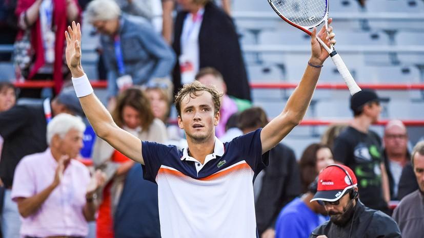 Джокович отметил прогресс российского теннисиста Медведева