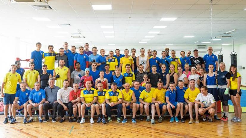 Украина не планирует отправлять официальную делегацию на ЧМ по боксу в России