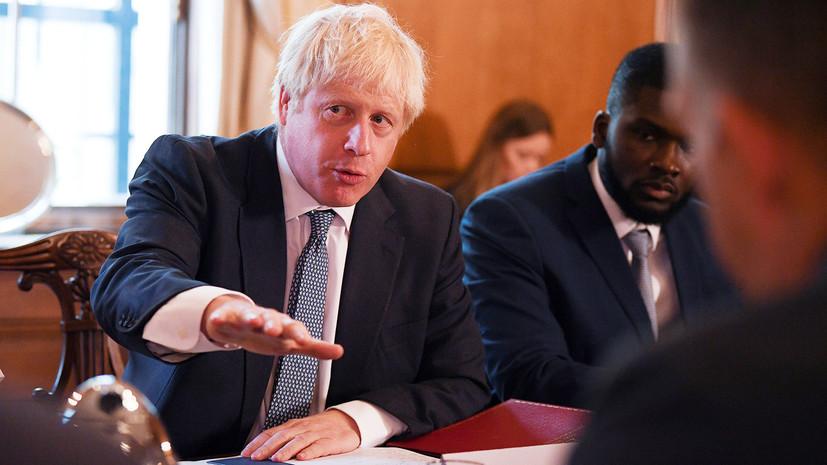 Джонсон и Болтон провели встречу в Лондоне