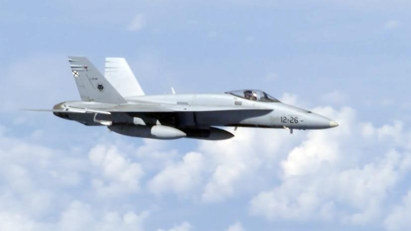 Истребитель НАТО попытался приблизиться к самолёту Шойгу над Балтикой