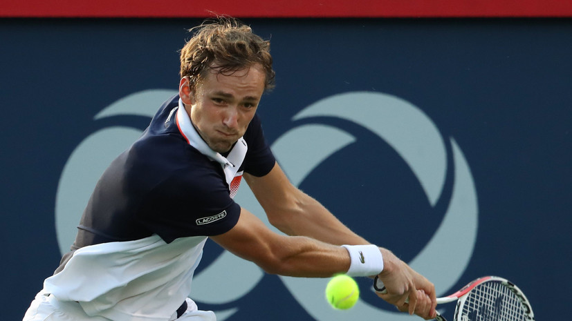 Российский теннисист Медведев обыграл британца Эдмунда на старте турнира в Цинциннати