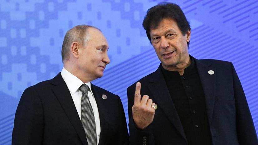 Путин поздравил власти Пакистана с Днём независимости