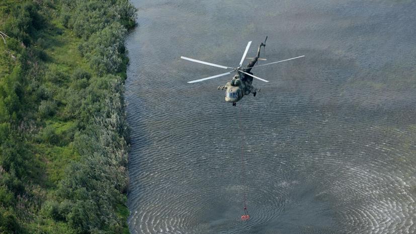 СК назвал три версии жёсткой посадки Ми-8 на Камчатке