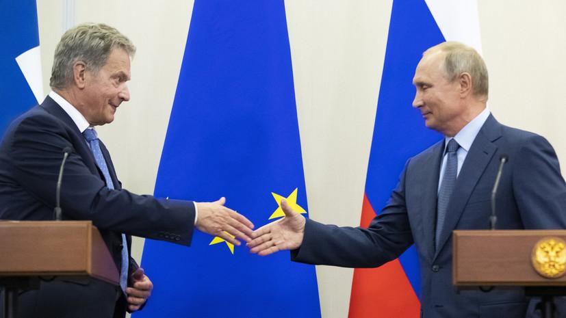 Путин встретится с президентом Финляндии в Хельсинки