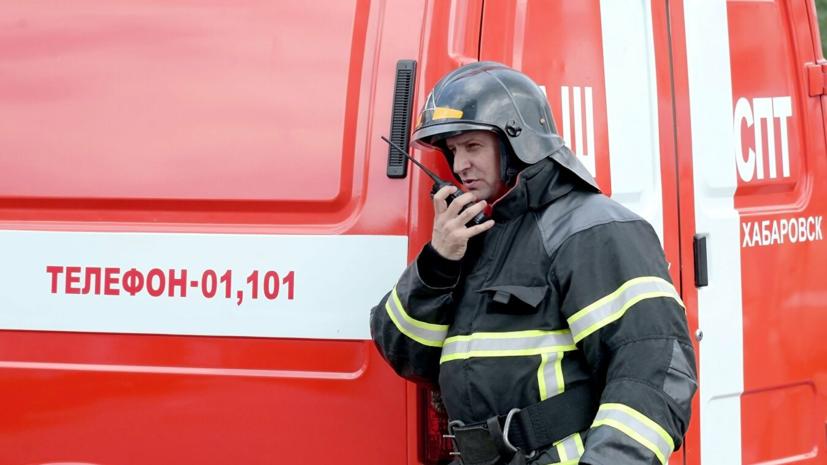 В Петербурге произошёл пожар в торговом павильоне