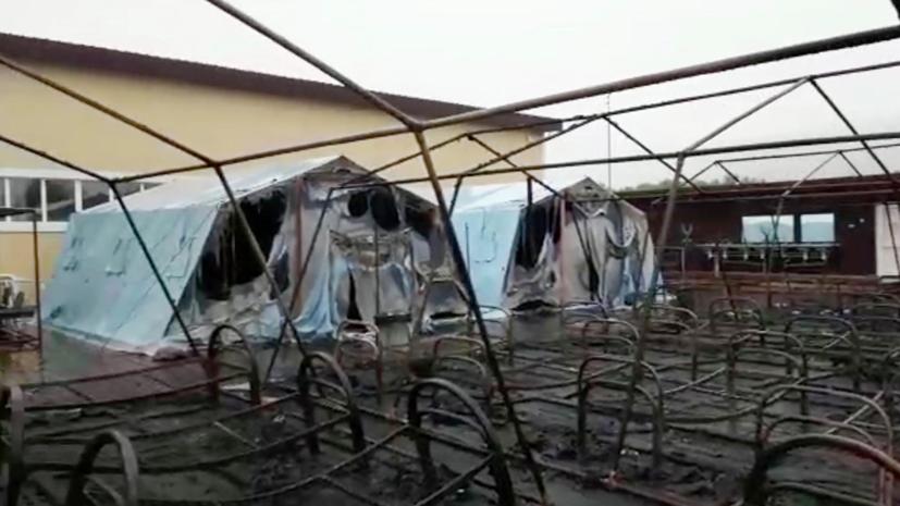 Детей из лагеря «Холдоми» направили на реабилитацию в детский центр