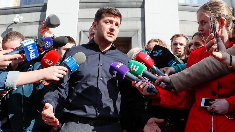 «Необходимо ломать всю систему власти»: сможет ли Зеленский изменить ситуацию со свободой слова на Украине