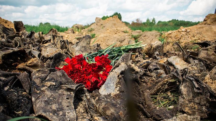 В Тверской области захоронили останки почти 300 бойцов Красной армии