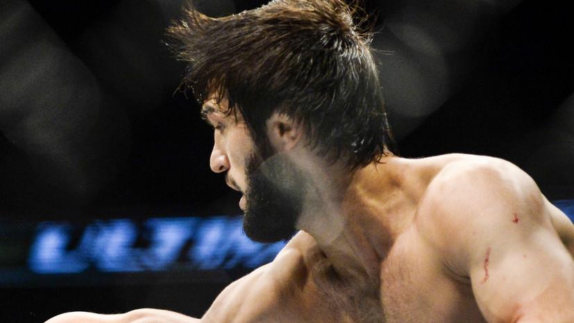 Российский боец Тухугов встретится с британцем Мёрфи на турнире UFC 242