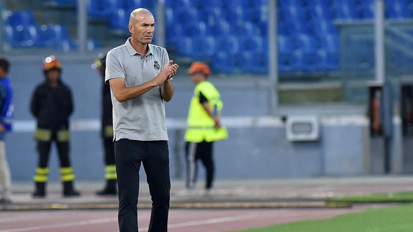 СМИ: Зидан может покинуть «Реал» из-за срыва сделки по Погба