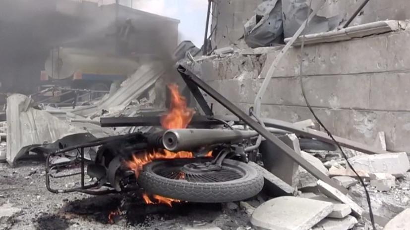 СМИ сообщили о сбитом боевиками Су-22 ВВС Сирии