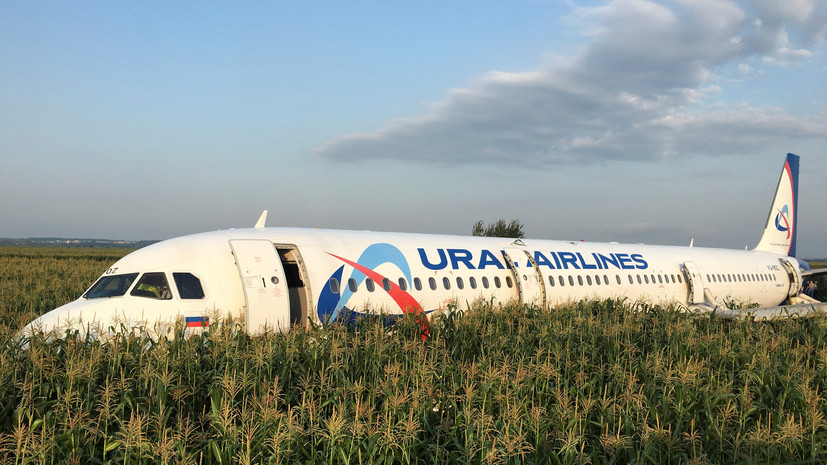 В Госдуме прокомментировали аварийную посадку А321