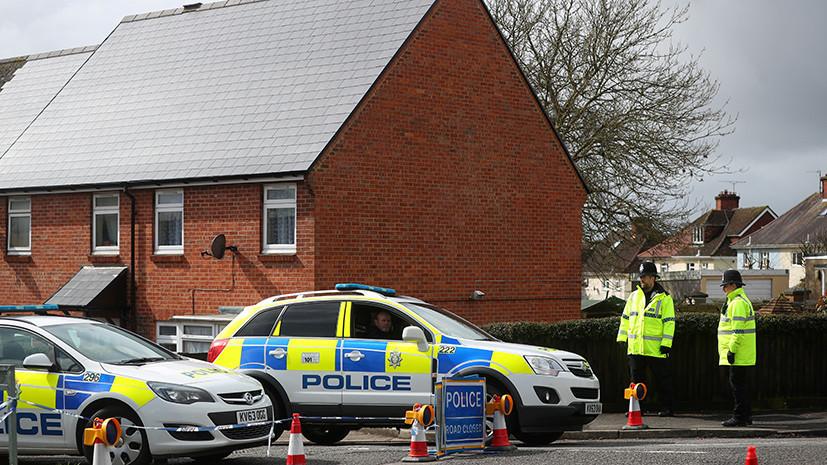 В Лондоне сообщили о новом пострадавшем при инциденте в Солсбери
