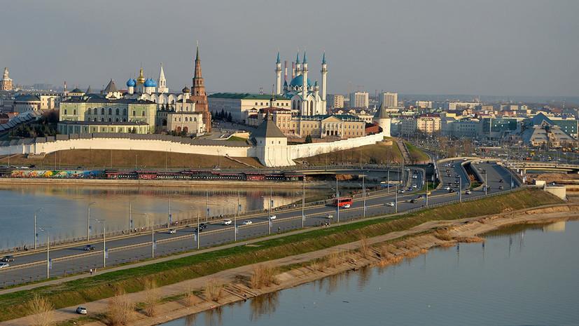 Световое шоу в честь 100-летия Татарстана покажут на стенах Казанского кремля