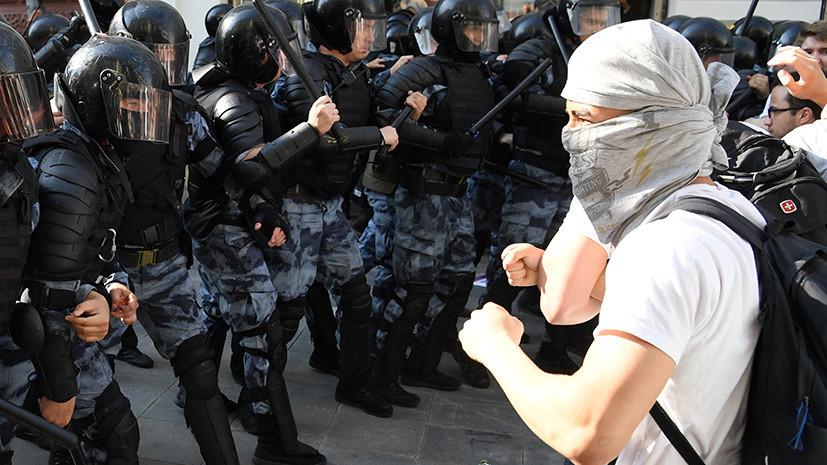 «Почувствовать себя в игре»: как организуют протесты в Москве