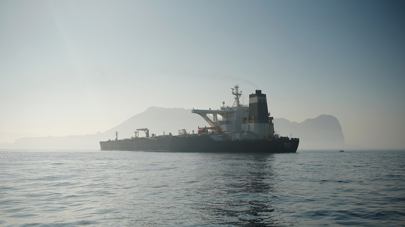 МИД Ирана назвал незаконным задержание танкера Гибралтаром