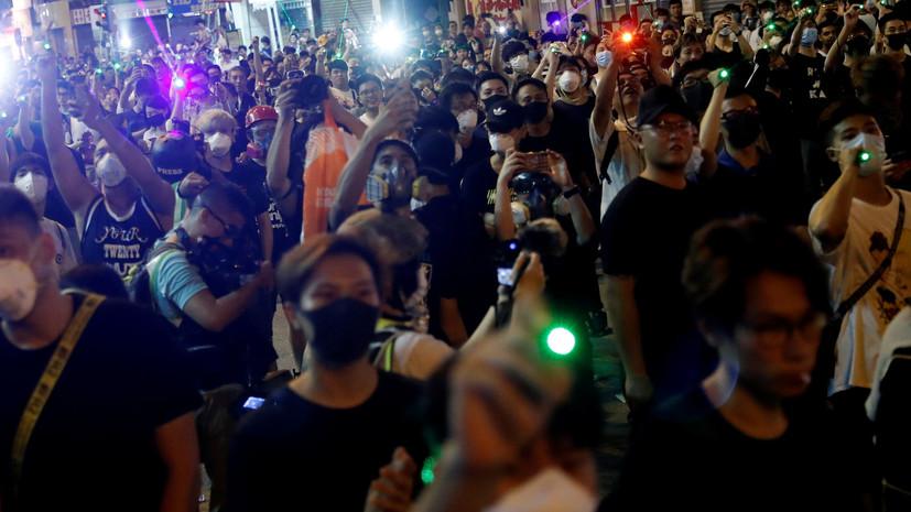 Генконсульство России предупредило о новых протестах в Гонконге