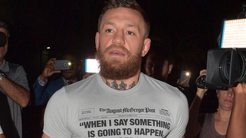 Боец UFC Петтис отреагировал на инцидент с Макгрегором и пожилым мужчиной