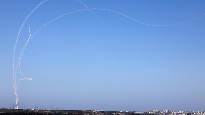 Израиль сбил выпущенную из сектора Газа ракету