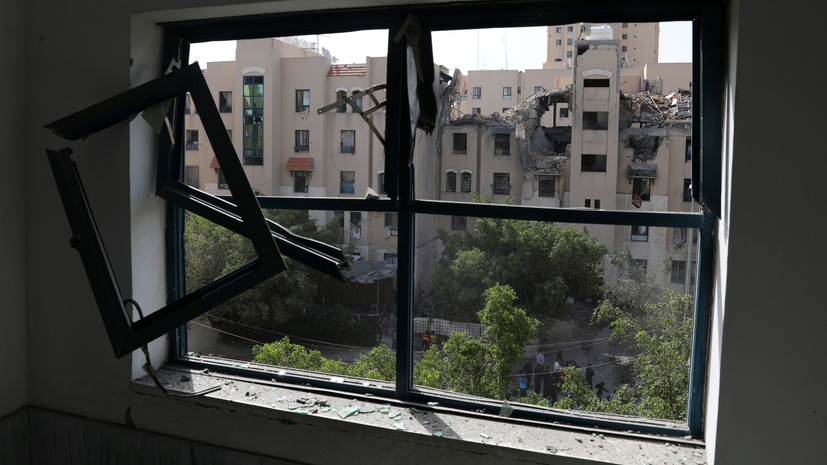 В Газе 77 палестинцев пострадали в ходе столкновений с армией Израиля