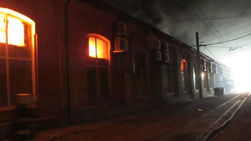 При пожаре в отеле Одессы погибли восемь человек