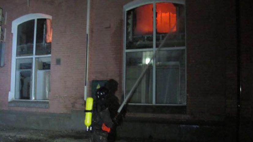 В полиции рассказали о состоянии пострадавших при пожаре в отеле Одессы