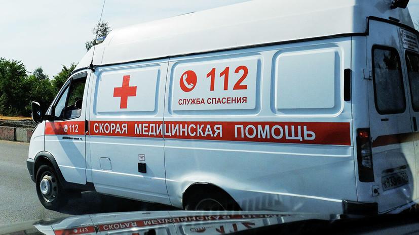 В ДТП с автобусом в Перми пострадали пять детей