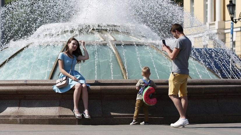 «Бешеный подъём температурного фона»: москвичей на следующей неделе ожидает жара до +29 °С