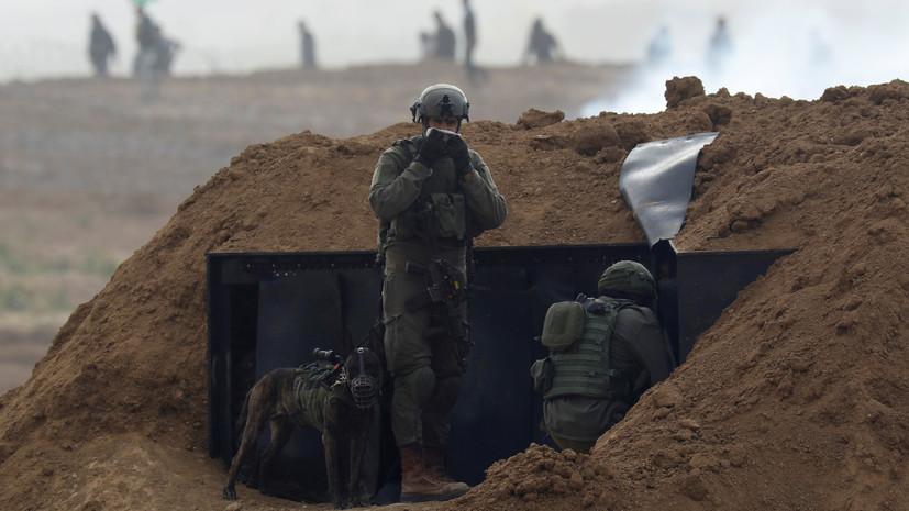 Медики: трое палестинцев погибли на границе сектора Газа