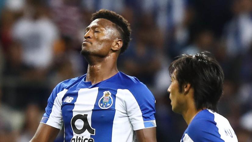 Зе Луиш оформил хет-трик в матче чемпионата Португалии по футболу