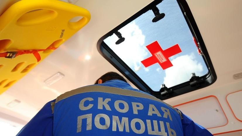 В ДТП с автобусом в Москве пострадали не менее 14 человек