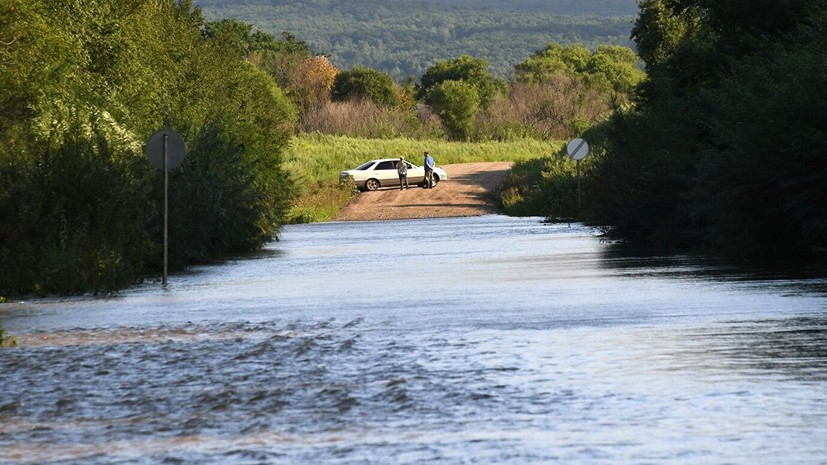 В Уссурийске объявили эвакуацию из-за паводка