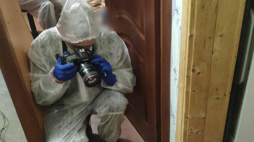 Опубликовано видео из дома убитой в Ульяновской области семьи
