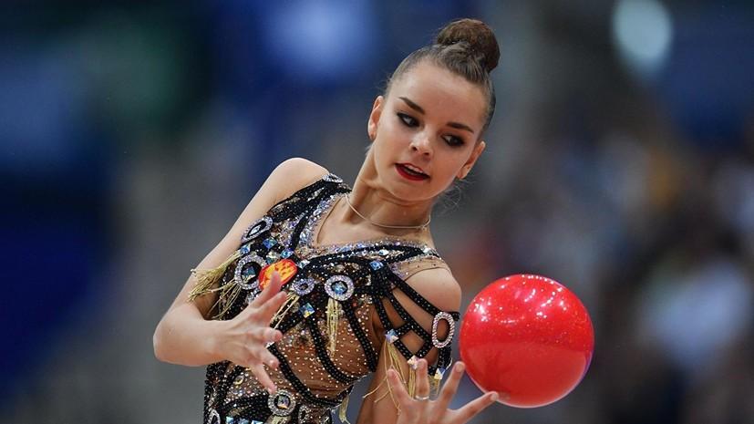 Гимнастка Дина Аверина выиграла три золота на этапе Кубка вызова в Минске