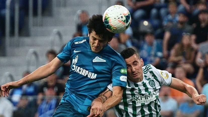 Егоров ответил Дзюбе на критику в адрес судьи после матча с «Ахматом»