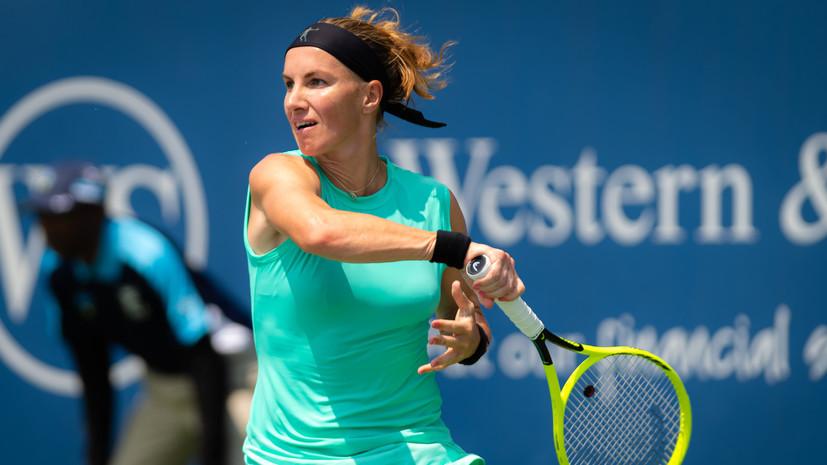 Кузнецова уступила Киз в финале турнира WTA в Цинциннати