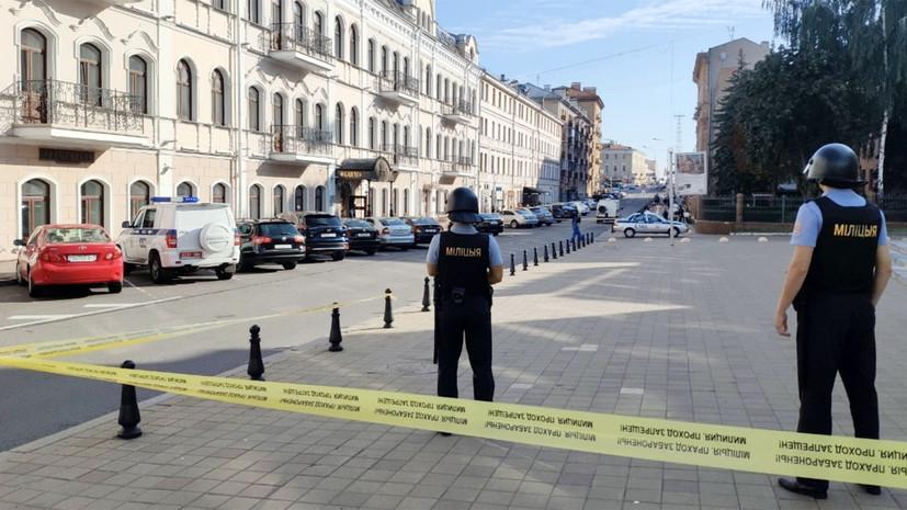 В Минске проверяют информацию о минировании аэропорта и вокзала