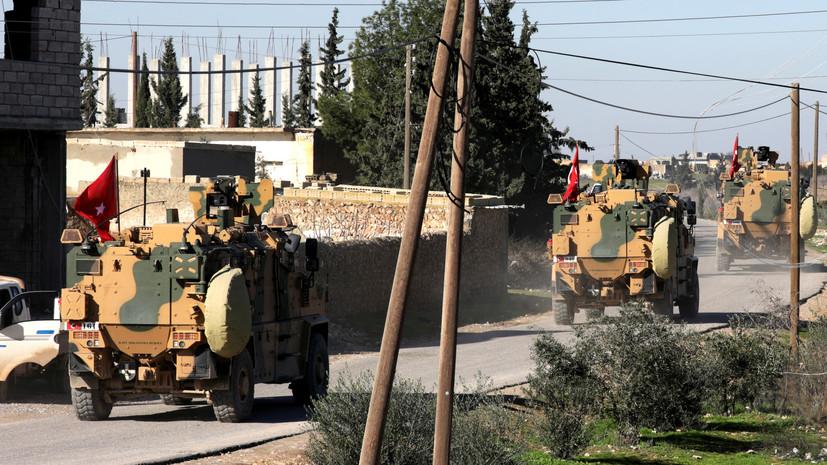 МИД Сирии заявил о продвижении турецких БТР в направлении Хан-Шейхуна