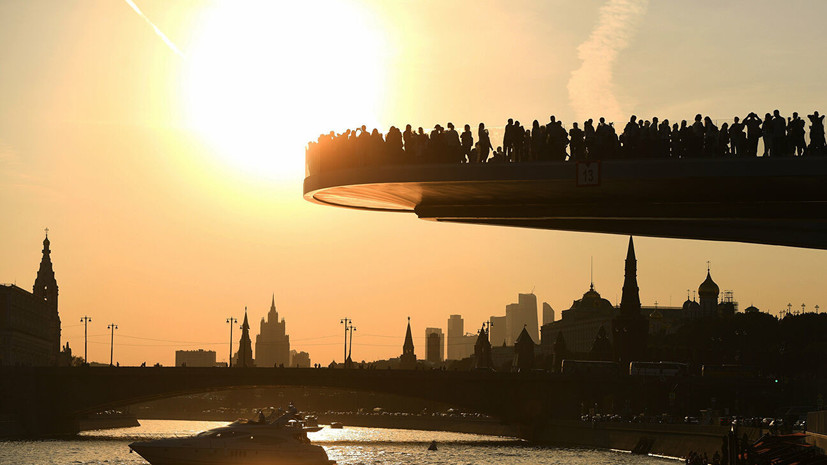 В Гидрометцентре прогнозируют потепление до +30 °С в Москве