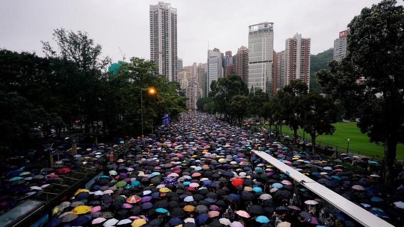 Китай призвал Тайвань не давать укрытие преступникам из Гонконга