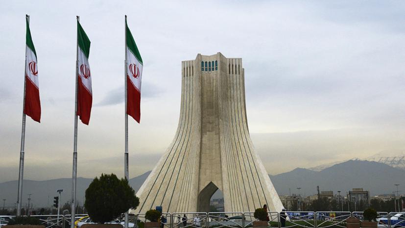 Зариф: Иран не заинтересован в переговорах с США