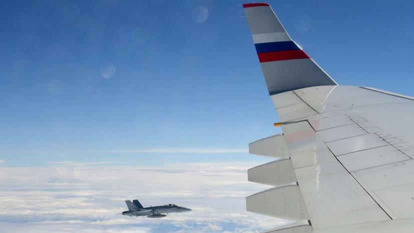 В Швейцарии прокомментировали сопровождение российского самолёта