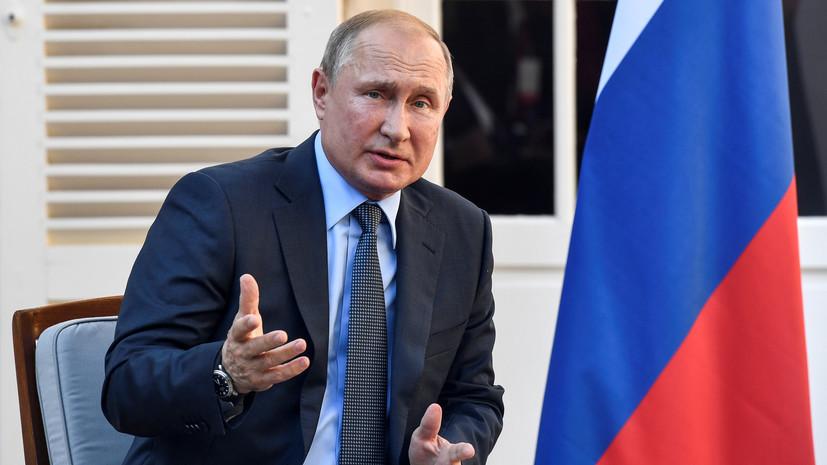 Путин заявил об отсутствии альтернативы нормандскому формату