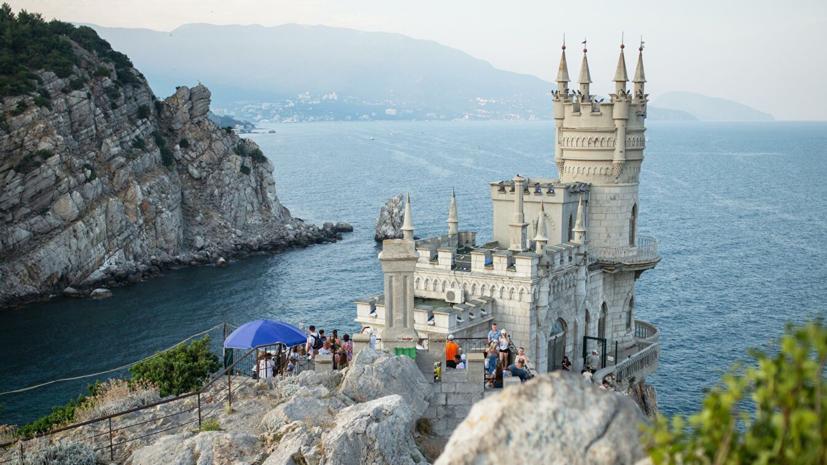 В Крыму закрыли дворец «Ласточкино гнездо» в связи с реконструкцией