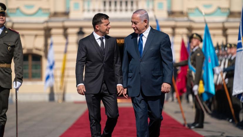 Офис Зеленского прокомментировал отказ жены Нетаньяху пробовать каравай